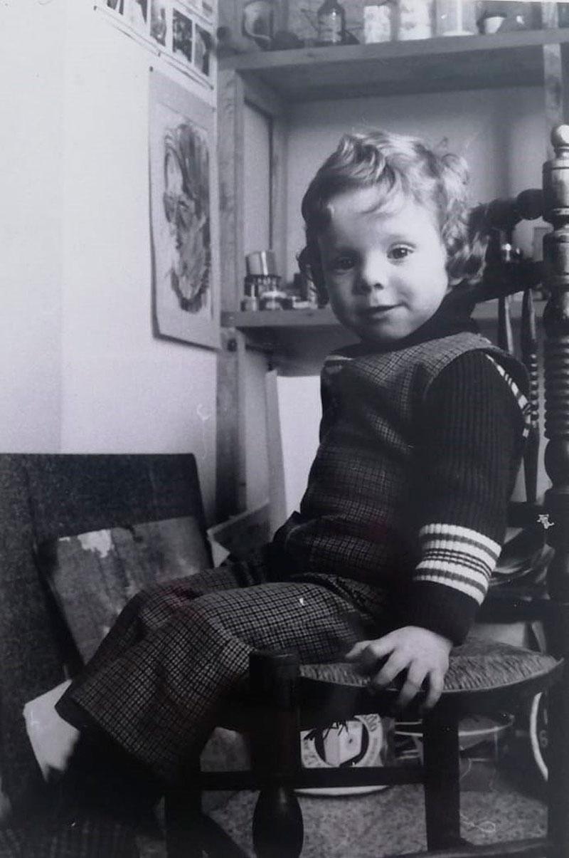 El pequeño Carlos García Ruiz