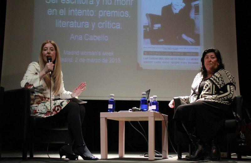 La escritora Almudena Grandes ha sido una de las muchas profesionales que han pasado por la Semana Internacional de la Mujer en estos 10 años de vida