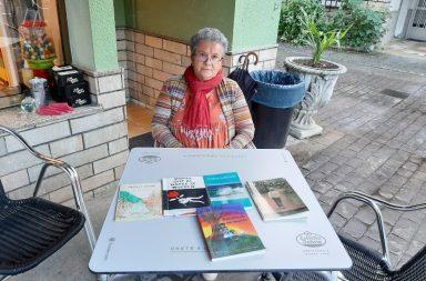La poeta, activista y expolítica María José Montero Núñez.