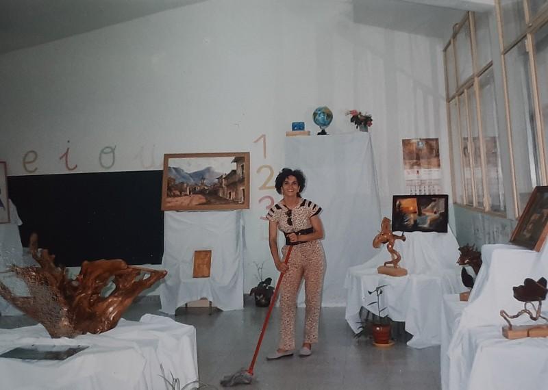 María José Montero Núñez en una actividad de la Asociación Vagalume.