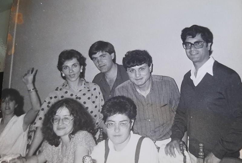 María José Montero Núñez cuando ganó el accésit en el certamen poético de Xesta.