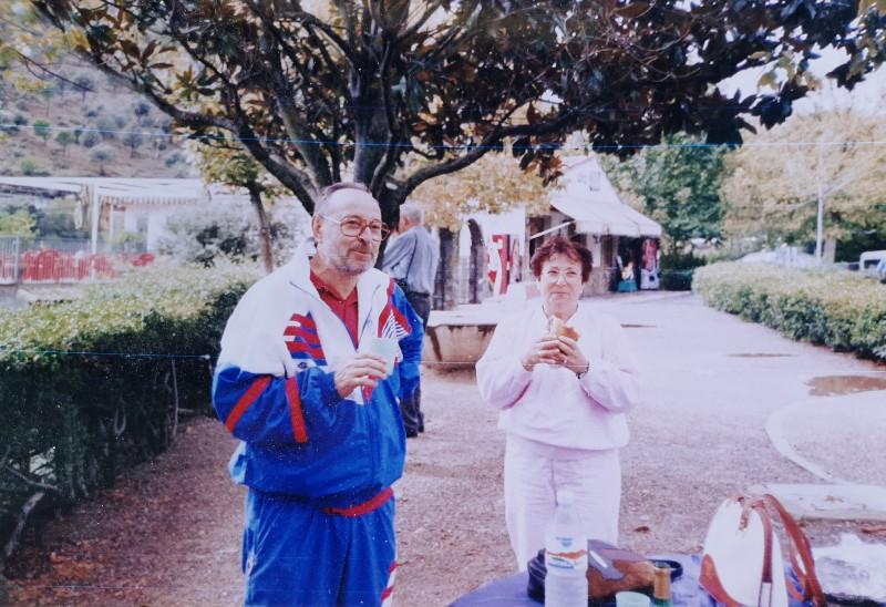 Violeta Arias y José Franganillo.